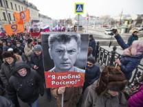 Gedenkmarsch für Boris Nemzow