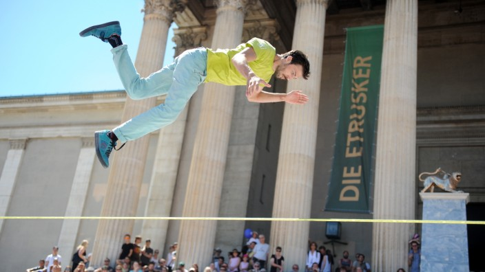 Sportfest auf dem Königsplatz