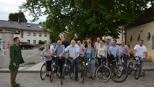 stadtradeln 2017, Gemeinderadsitzung in glonn, gemeinderat glonn