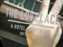 Lovelace Hotel Bar Pop-Up Projekt München Innenstadt