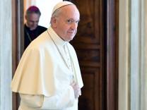 Bundeskanzlerin Merkel zur Privataudienz beim Papst