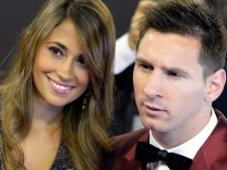 Lionel Messi und Antonella Roccuzzo
