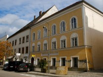 FILE PHOTO: The house in which Adolf Hitler was born is seen in Braunau am Inn