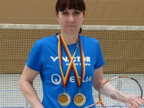 Tanja Eberl, Badmintonspielerin aus Egmating