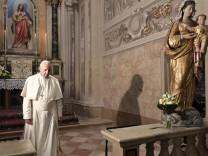 Papst Franziskus auf Pilgerreise