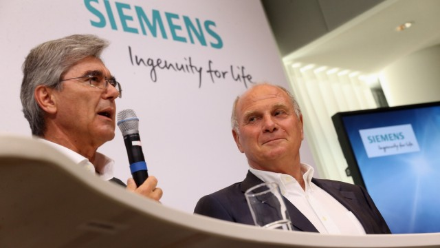 Siemens will vom Glanz des FC Bayern profitieren - Wirtschaft ...