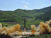 Nordkorea - Angeblicher Test einer Interkontinentalrakete