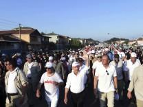 Gerechtigkeitsmarsch in der Türkei