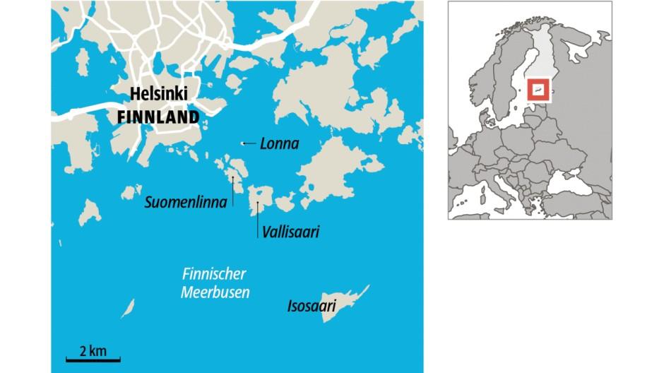 Finnland Wilde Stadt