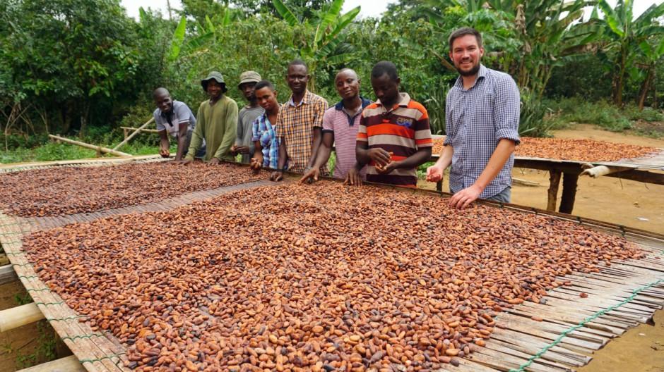 Schokolade Kakao-Start-up