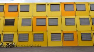 Schulcontainer in München, 2015