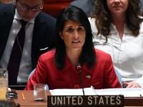 UN-Botschafterin Nikki Haley, USA, Nordkorea
