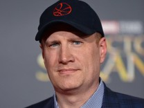 President of Marvel Studios and producer Kevin Feige arrives at the world premiere of Doctor Strange