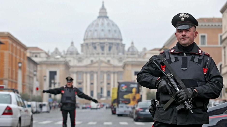 Angst vor Terror in Rom