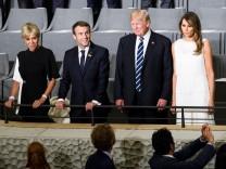 Donald Trump und Marcron