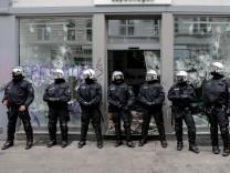 G20-Gipfel - Aufräumarbeiten