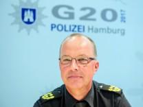 Polizei-Einsatzleiter für G20-Gipfel - Hartmut Dudde