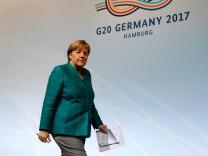 G20 leaders summit in Hamburg