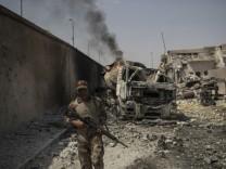 Gefechte in Mossul