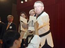 IOC-Präsident Thomas Bach in Südkorea