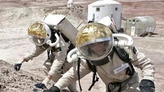 4bemannte Mars Mission Das Gepäck Fliegt Voraus Wissen