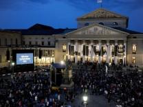 Oper für alle auf dem Max-Joseph-Platz