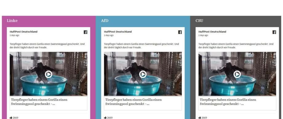 Der Facebook-Faktor Diskussion um Filterblasen