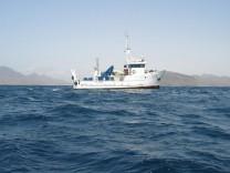 Das Forschungsschiff 'Islandia'