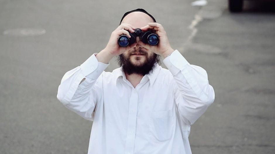Judentum Weiße Schnur in New York