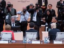 G20-Gipfel · 1. Arbeitssitzung