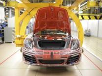 911 Assembly At Porsche Plant