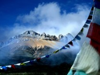 Snow mountain Tibet
