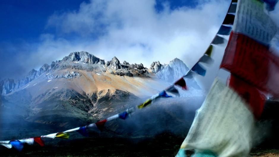 Snow mountain Tibet