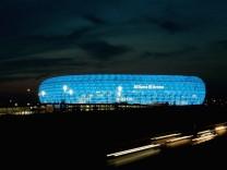 Friendly match FC Bayern Munich v TSV 1860 Munich; arena