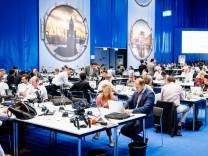 07 07 2017 Germany GER G20 Hamburg Summit Meeting das int Pressezentrum