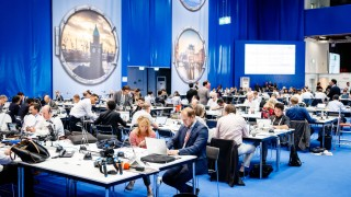 07 07 2017 Germany GER G20 Hamburg Summit Meeting das int Pressezentrum