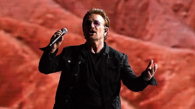 Konzert der Band U2 - The Joshua Tree Tour