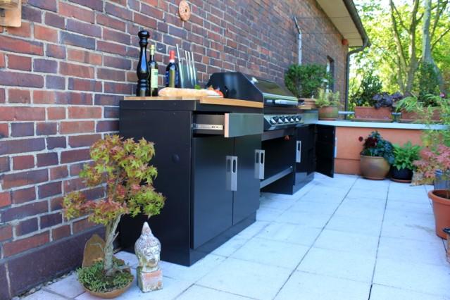 Modulare Outdoorküche von BeefEater
