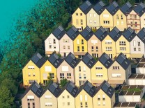 Luftbild Solarsiedlung Sonnenhof Gelsenkirchen Bismarck SolardâÄ°cher alternative Energie regenera