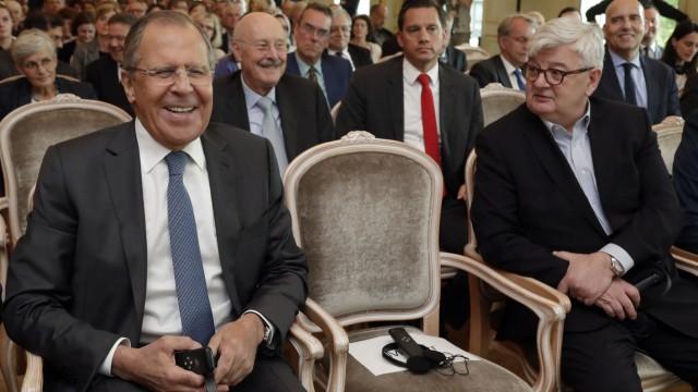 Sergej Lawrow Russland und Europa