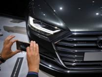Der neue Audi A8 beim Audi Summit 2017 in Barcelona