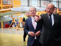 Sommerreise von SPD-Kanzlerkandidat Schulz nach Hamburg
