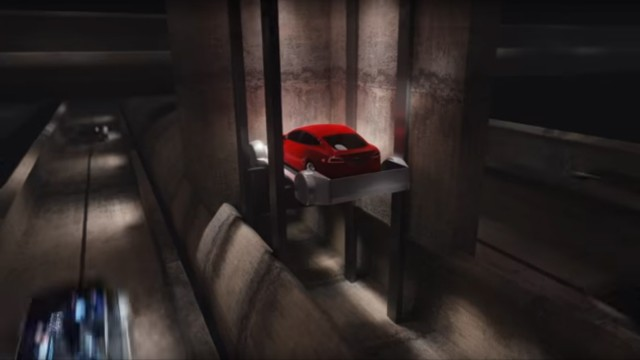 Elon Musk baut einen Tunnel
