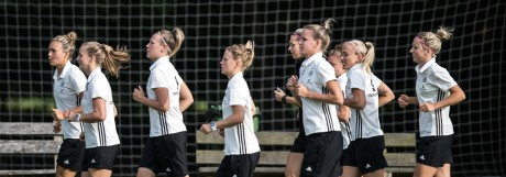 Germany Women's Training And Press Conference
