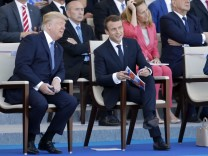 2017 Bastille Day Military Ceremony On The Champs Elysees In Paris