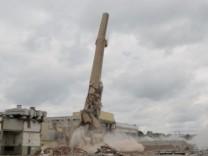 Sprengung Paulaner-Turm