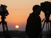 Journalisten am Gaza-Streifen, AFP