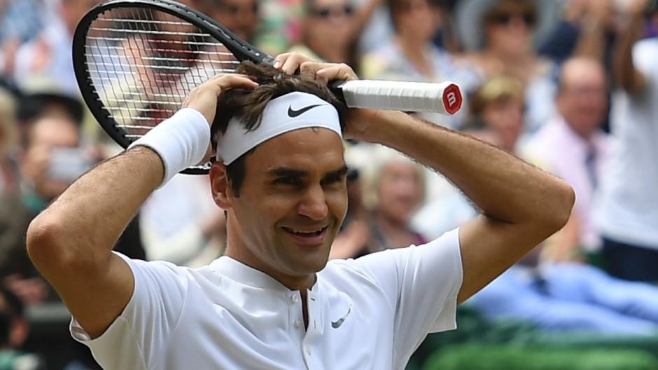 Wimbledon Federer in Wimbledon