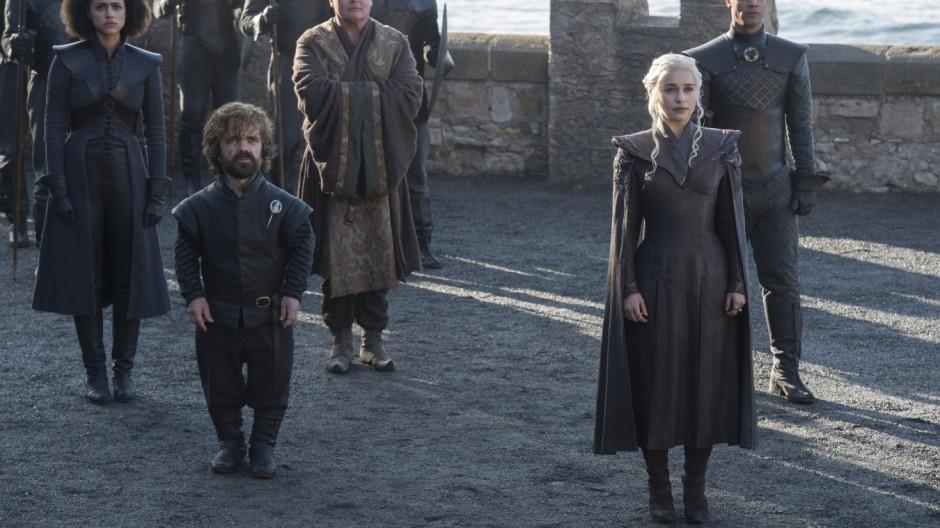 """Der Kampf um die Machtin den Sieben Königslanden geht weiter: ein Still aus der siebten Staffel von """"Game of Thrones""""."""
