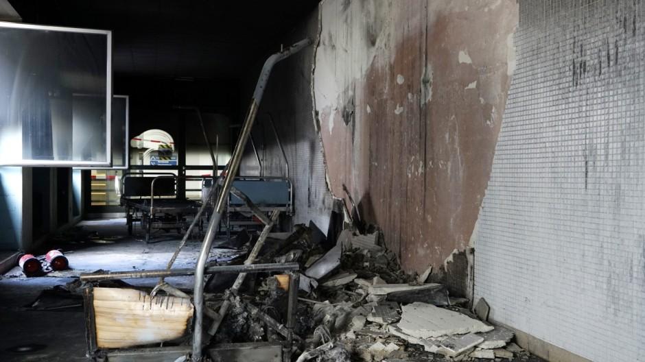 Klinikum Großhadern Feuer